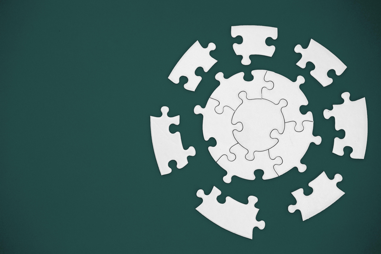 Circle Puzzle Teal