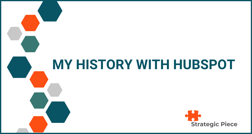 My History with HubSpot