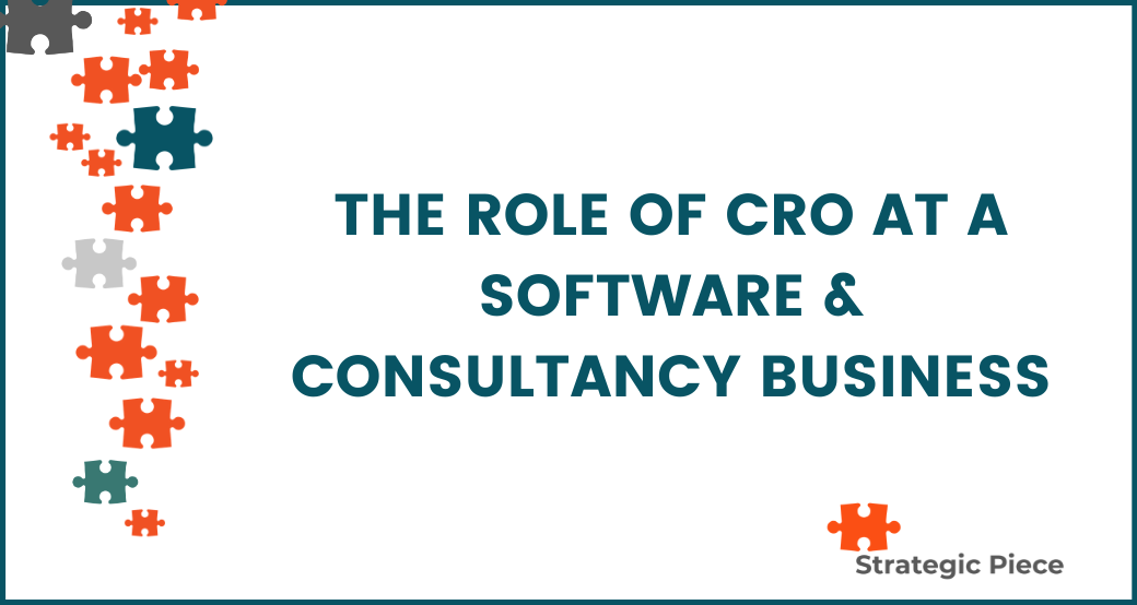 The Role of CRO at a Software & Consultancy Business